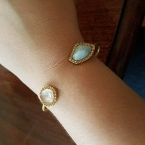 Chloe + Isabel Sand and Sky Cuff Bracelet